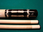 Ivory handle Black Boar cue