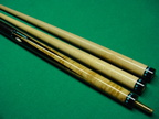 Richard Harris Bluegrass ivory diamond cue