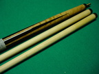Ebony points with no veneers Southwest cue